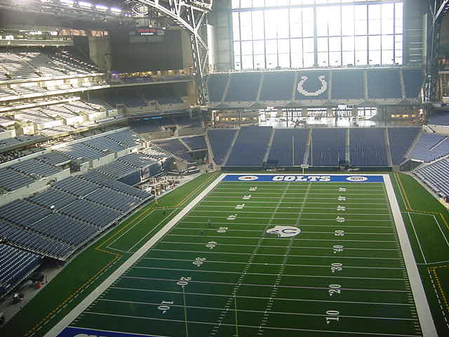 Colts field from North
